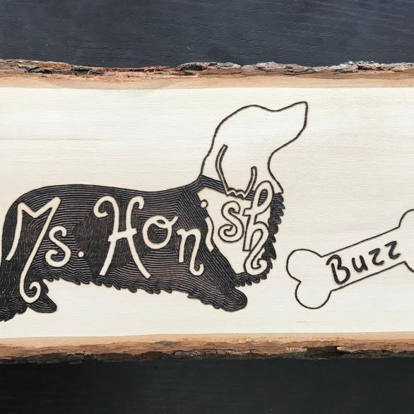 Ms. Honish & Buzz 1