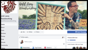 facebook screen